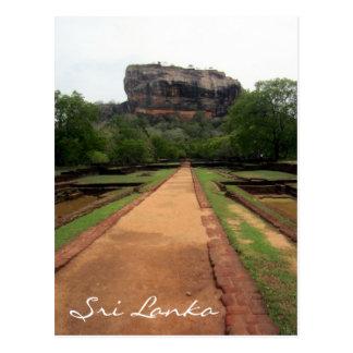 sigiriya path postcard