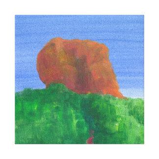 Sigiriya Rock Canvas Print