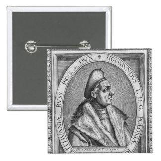 Sigismund I 15 Cm Square Badge