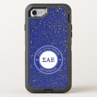 Sigma Alpha Epsilon | Badge OtterBox Defender iPhone 8/7 Case