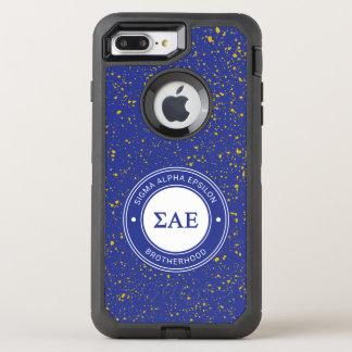 Sigma Alpha Epsilon | Badge OtterBox Defender iPhone 8 Plus/7 Plus Case