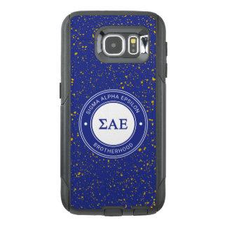 Sigma Alpha Epsilon | Badge OtterBox Samsung Galaxy S6 Case