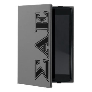 Sigma Alpha Epsilon Black Letters Cover For iPad Mini