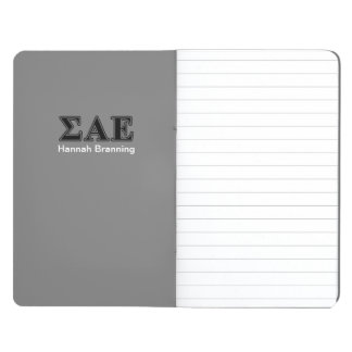 Sigma Alpha Epsilon Black Letters Journal