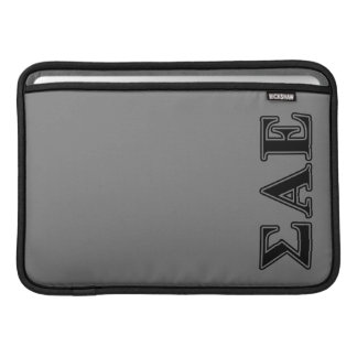 Sigma Alpha Epsilon Black Letters Sleeve For MacBook Air