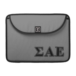 Sigma Alpha Epsilon Black Letters Sleeve For MacBook Pro