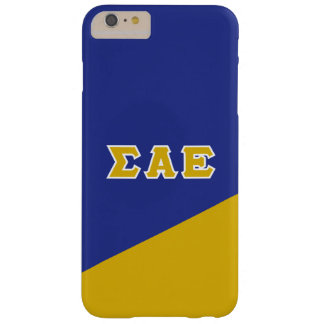 Sigma Alpha Epsilon | Greek Letters Barely There iPhone 6 Plus Case