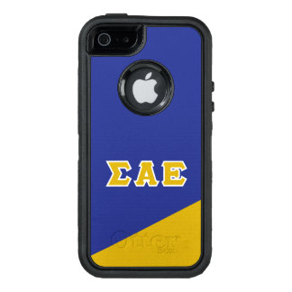 Sigma Alpha Epsilon | Greek Letters OtterBox Defender iPhone Case