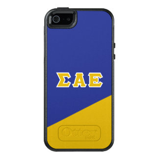 Sigma Alpha Epsilon | Greek Letters OtterBox iPhone 5/5s/SE Case