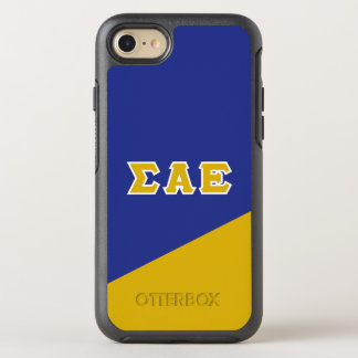 Sigma Alpha Epsilon | Greek Letters OtterBox Symmetry iPhone 8/7 Case