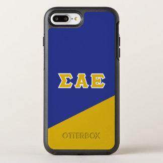 Sigma Alpha Epsilon | Greek Letters OtterBox Symmetry iPhone 8 Plus/7 Plus Case