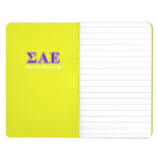 Sigma Alpha Epsilon Purple Letters Journal