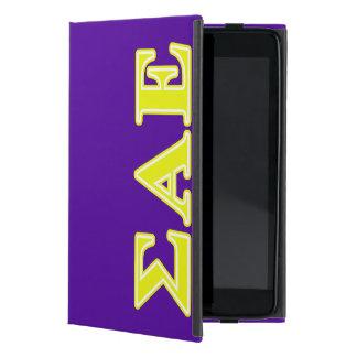 Sigma Alpha Epsilon Yellow Letters iPad Mini Cover