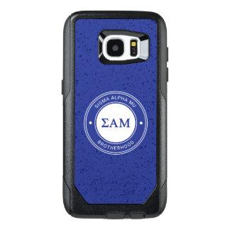Sigma Alpha Mu   Badge OtterBox Samsung Galaxy S7 Edge Case