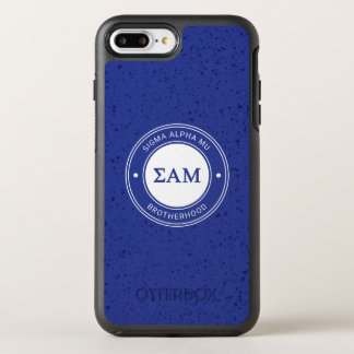 Sigma Alpha Mu   Badge OtterBox Symmetry iPhone 8 Plus/7 Plus Case