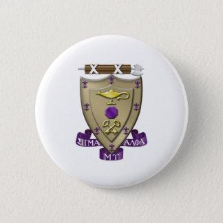 Sigma Alpha Mu Crest 6 Cm Round Badge
