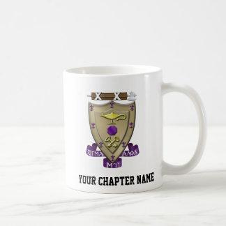 Sigma Alpha Mu Crest Coffee Mug