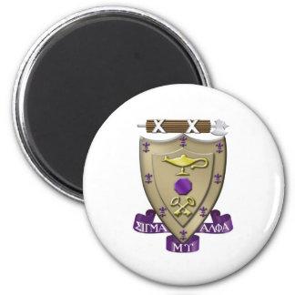 Sigma Alpha Mu Crest Magnet