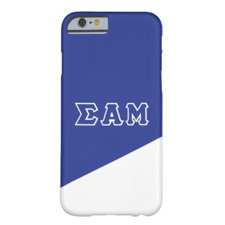 Sigma Alpha Mu | Greek Letters Barely There iPhone 6 Case