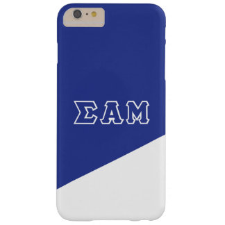 Sigma Alpha Mu | Greek Letters Barely There iPhone 6 Plus Case