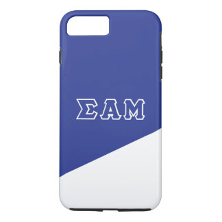 Sigma Alpha Mu   Greek Letters iPhone 8 Plus/7 Plus Case