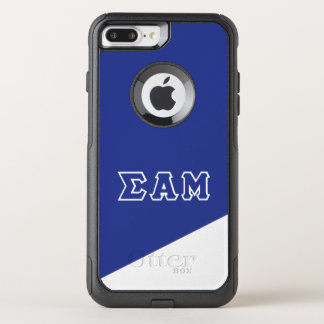 Sigma Alpha Mu | Greek Letters OtterBox Commuter iPhone 8 Plus/7 Plus Case