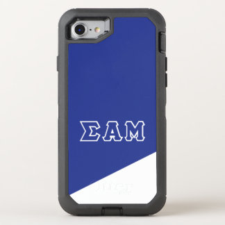 Sigma Alpha Mu | Greek Letters OtterBox Defender iPhone 8/7 Case