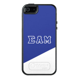 Sigma Alpha Mu | Greek Letters OtterBox iPhone 5/5s/SE Case