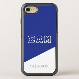 Sigma Alpha Mu | Greek Letters OtterBox Symmetry iPhone 8/7 Case