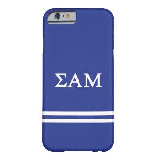 Sigma Alpha Mu   Sport Stripe Barely There iPhone 6 Case