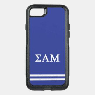 Sigma Alpha Mu | Sport Stripe OtterBox Commuter iPhone 7 Case
