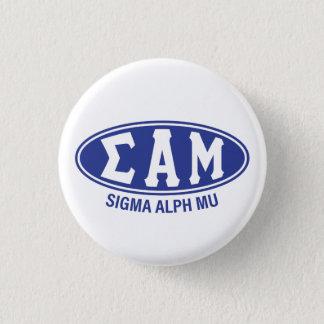 Sigma Alpha Mu | Vintage 3 Cm Round Badge