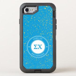 Sigma Chi | Badge OtterBox Defender iPhone 8/7 Case