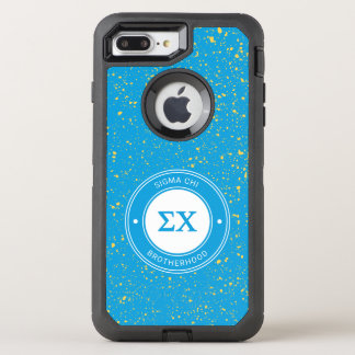 Sigma Chi | Badge OtterBox Defender iPhone 8 Plus/7 Plus Case