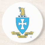 Sigma Chi Crest Logo Coasters