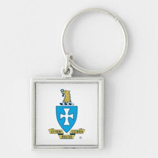 Sigma Chi Crest Logo Key Ring