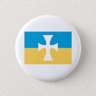 Sigma Chi Flag 6 Cm Round Badge