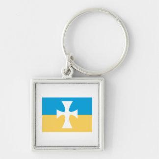 Sigma Chi Flag Key Ring