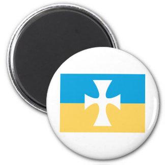 Sigma Chi Flag Magnet