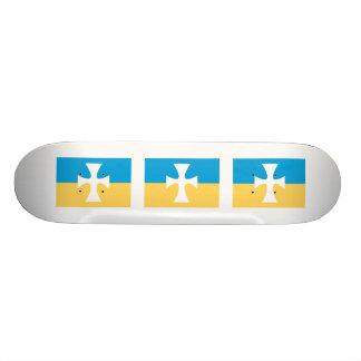 Sigma Chi Flag Skate Deck