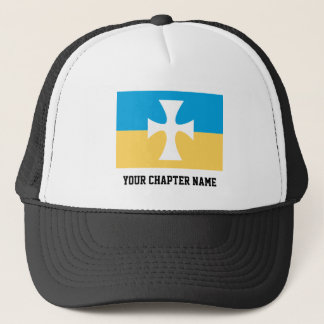 Sigma Chi Flag Trucker Hat
