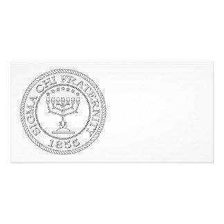 Sigma Chi Grand Seal B+W Card