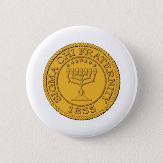 Sigma Chi Grand Seal Color 6 Cm Round Badge