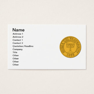 Sigma Chi Grand Seal Color Business Card