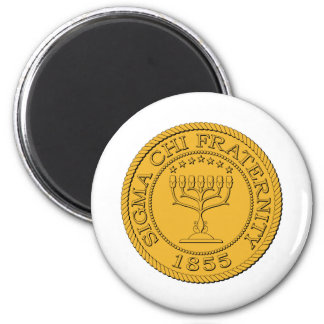 Sigma Chi Grand Seal Color Magnet