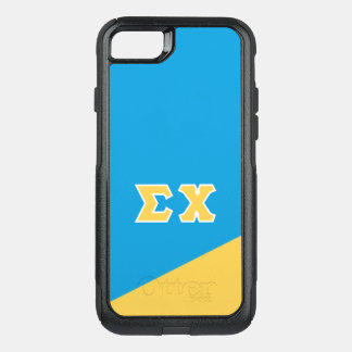 Sigma Chi | Greek Letters OtterBox Commuter iPhone 8/7 Case
