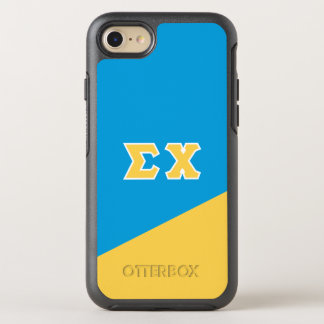 Sigma Chi | Greek Letters OtterBox Symmetry iPhone 7 Case