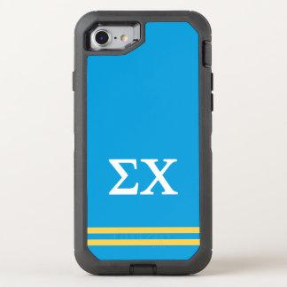 Sigma Chi | Sport Stripe OtterBox Defender iPhone 7 Case