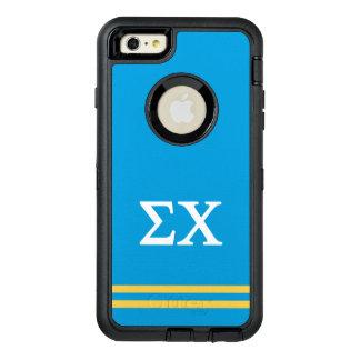 Sigma Chi | Sport Stripe OtterBox Defender iPhone Case