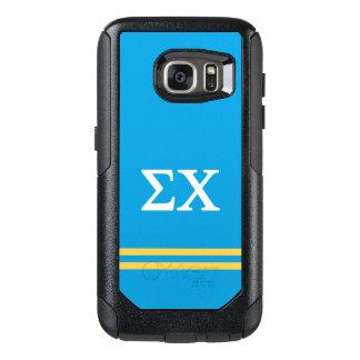 Sigma Chi   Sport Stripe OtterBox Samsung Galaxy S7 Case